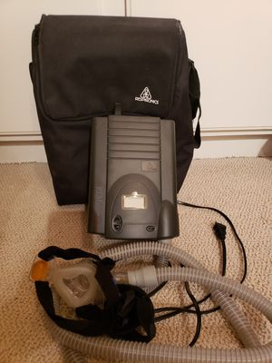 Respironics Remaster Plus Cpap machine with carry tote for Sale in Murrieta, CA