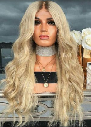 Beautiful Sun blonde human hair lace front wig for Sale in Victorville, CA