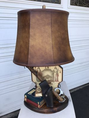 NIGHTWATCH ANTIQUE LAMP for Sale in Westminster, CA