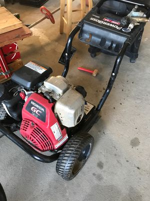 Powerboss 3000 psi pressure washer for Sale in Winfield, PA