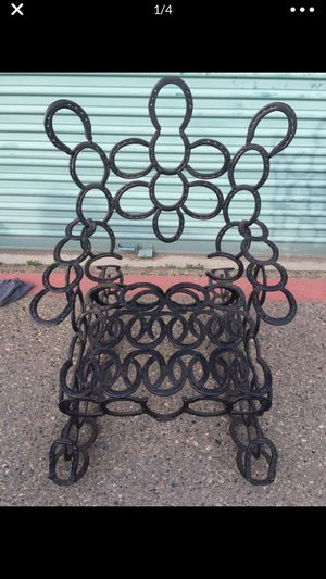 Iron Horseshoe Rocking Chair for Sale in Fresno, CA