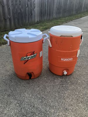 Sports coolers! Must go! for Sale in Peoria, IL