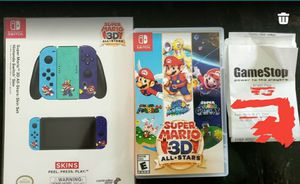 BRAND NEW Nintendo Switch Super Mario 3D All-Stars with best bonuses! for Sale in Bristol, CT