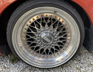 "WHEELS & TIRES BBS RS 17"" 5x114.3 for Sale in Opa-locka, FL"