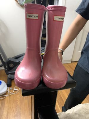 Toddler girl Hunter boots for Sale in Glendale, CA