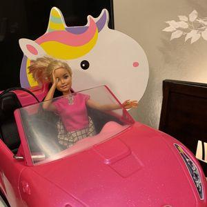 BARBIE DOLL IN HER BARBIE CAR for Sale in El Cajon, CA