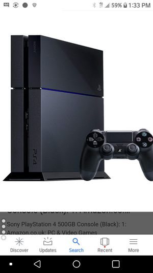 Ps4 for sell $200 and Red Dead Redemption for Sale in Washington, DC