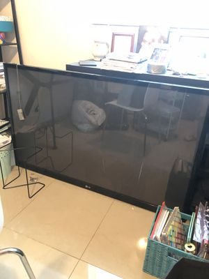 LG 60 Inch Flat Screen Plasma TV (Not Working) for Sale in Pinellas Park, FL