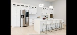 New Kitchen Cabinets White/Gray and Espresso Shaker for Sale in St. Louis, MO