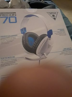 Brand new recon 70 turtle beach amplified gaming headset for ps4 for Sale in Gainesville, FL