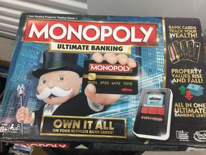 Monopoly Ultimate Banking board game for Sale in Queen Creek, AZ