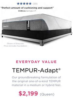Plushed TempurPedic mattress for Sale in San Francisco, CA