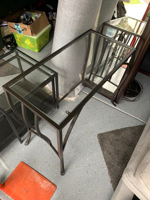 Glass Console table for Sale in Danville, CA