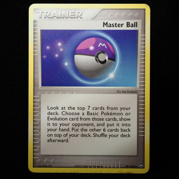 Pokemon Card - Master Ball