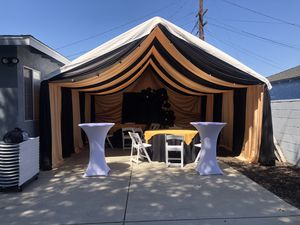 Canopy Draping,carpas ,drapeo mesas ,manteles y sillas 10x20,10x30,10x40,20x20-20x60 for Sale in Rolling Hills Estates, CA