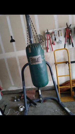 Punching bag for Sale in Santa Maria, CA