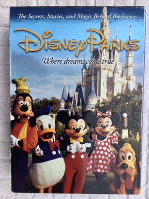 Disney Parks - The Secrets, Stories, and Magic Behind the Scenes 6 DVD Set for Sale in Fresno, CA