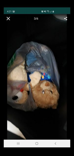 FREE 2 BAGS OF PLUSH TOYS for Sale in Miami, FL