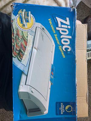 Ziploc vacuum sealer system for Sale in Lakeside, CA