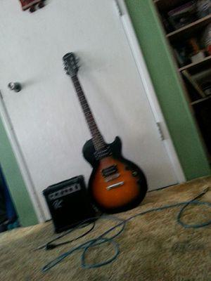 Epiphone electric guitar w/ amp for Sale in San Luis Obispo, CA