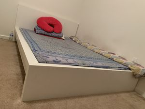 Moving sale ..!! Sofa & queen bed frame plus nice mattress with box spring for Sale in Lexington, KY