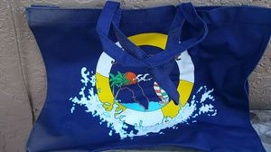 Beach bag navy large for Sale in West Palm Beach, FL