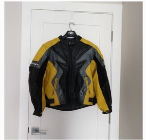 Joe Rocket leather motorcycle jacket for Sale in Las Vegas, NV