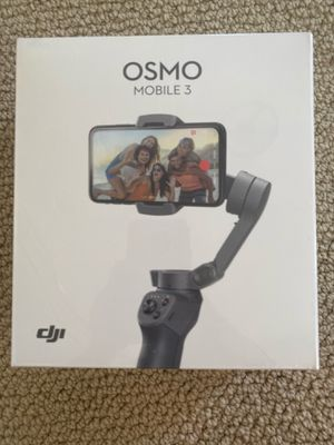 DJI OSMO MOBILE 3 GIMBAL NEVER OPENED! for Sale in San Diego, CA