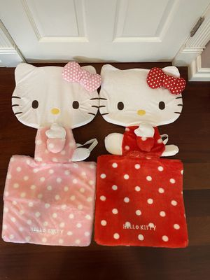 Hello Kitty car seat cover set for Sale in Los Gatos, CA