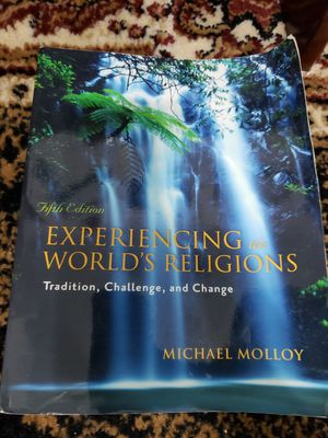Experiencing the World's Religions - World religions textbook for Sale in Pembroke Pines, FL
