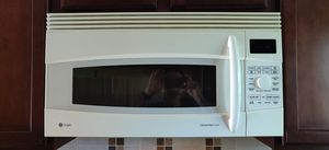 GE Profile 1.7 Cu. Ft. convection over-the-range microwave oven for Sale in Arlington, VA