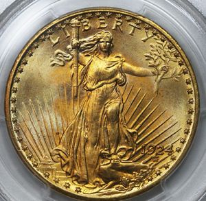 1924 Saint Gaudens Golden Double Eagle for Sale in Dale, IL