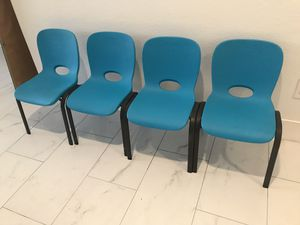4 brand new kids chairs - Lifetime brand for Sale in Glendale, AZ