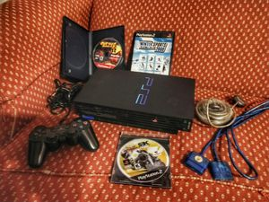 Fat Sony PlayStation 2 PS2 Console with Controller and Games for Sale in Unionville, VA