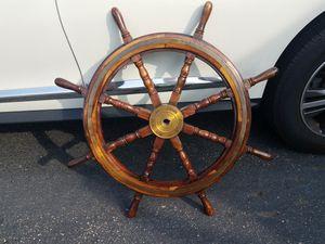 Vintage John Poole, Glasgow Ships Wheel for Sale in Stratford, CT