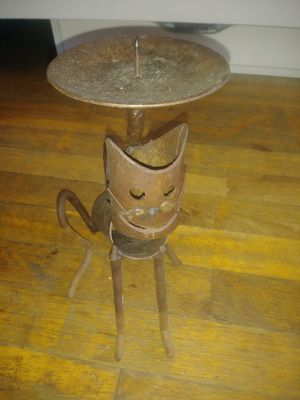 Iron candleholder for Sale in San Antonio, TX