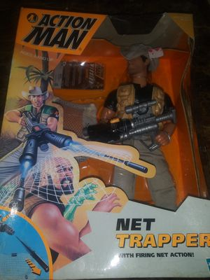 Hasbro Action Man Net Trapper 1998 for Sale in Hawthorne, CA