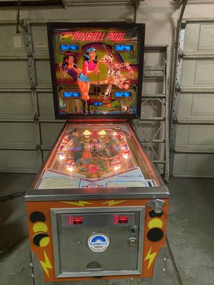 1979 Gottlieb Pinball Pool Pinball Machine , Fully Restored for Sale in Fresno, CA