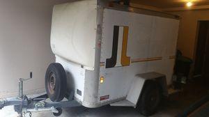 Enclosed cargo trailer aluminum Fruehauf U-Haul type 5' x 8' utility for Sale in Lynnwood, WA