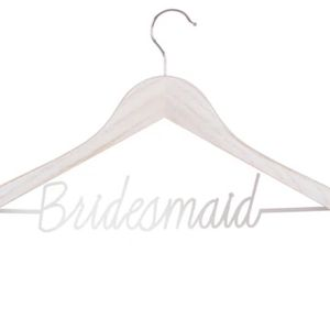 Customized Bridesmaid Hangers Name& Date for Sale in The Bronx, NY