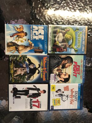 Shrek movie plus more for Sale in San Pablo, CA
