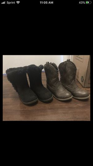 Girl toddler boots size 11 for Sale in Elk Grove, CA