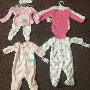 BRAND NEW Baby Girl Clothes Size 0-3 Months With Tag for Sale in Worcester, MA