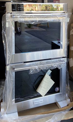 """KitchenAid - 30"""" Built-In Double Electric Convection Wall Oven - Stainless steel for Sale in North Las Vegas, NV"""