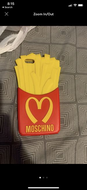 Moschino French Fry IPhone 5/5s Case for Sale in Los Angeles, CA