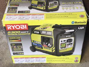 Ryobi 2300 watt Inverter Generator with Bluetooth for Sale in Rolling Meadows, IL