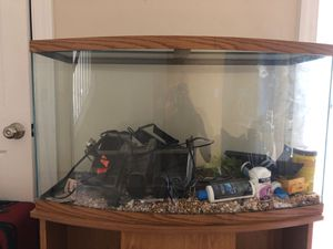 Two piece fish tank for Sale in Cary, NC