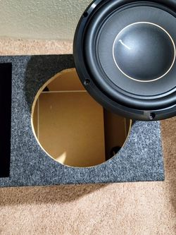 Brand New Pioneer 10 Subwoofer And Vented Box for Sale in Beaverton,  OR
