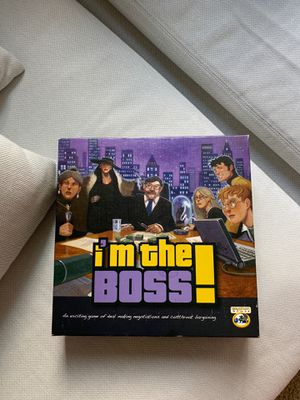 I'm the boss Board Game for Sale in Bellevue, WA