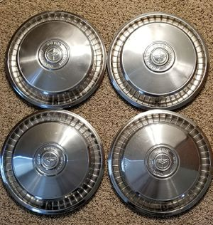 70's Vintage Collector's Ford Hubcaps for Sale in Chicago, IL